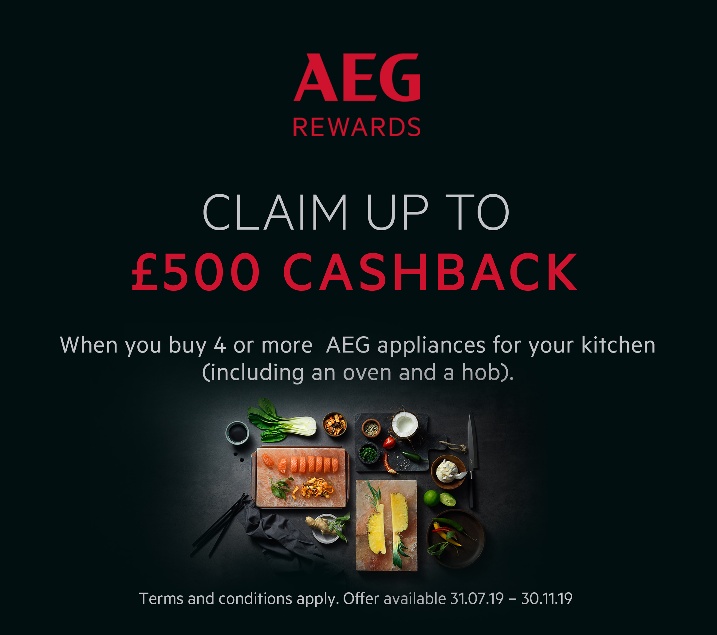 AEG Autumn Offer